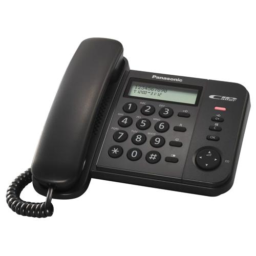 TELEFON PANASONIC KX-Ts580 black