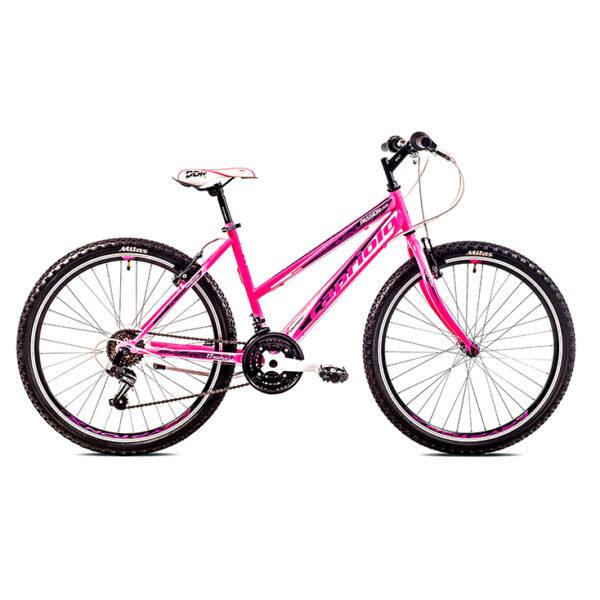 "Bicikl CAPRIOLO passion lady 26"", pink-belo"