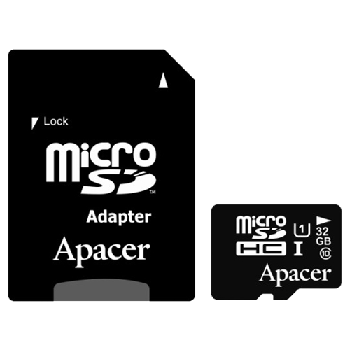 APACER MicroSDHC 32GB UHS-I Class 10