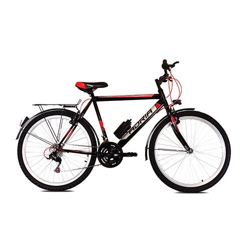 Bicikl CAPRIOLO Adria 2016 nomad + 26 crno-crveno
